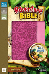 NIV Adventure Bible Imitation Leather Pink Full Color
