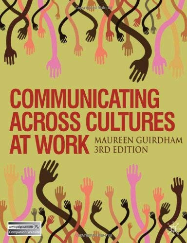 Communicating Across Cultures at Work