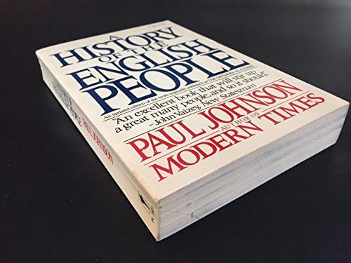 History Of The English People