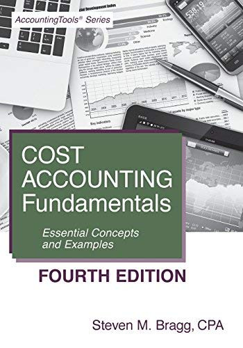 Cost Accounting Fundamentals