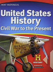 Mcdougal United States History New York Student Edition Grades 6-9 Civil War To