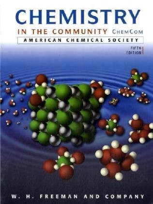 Chemistry In The Community