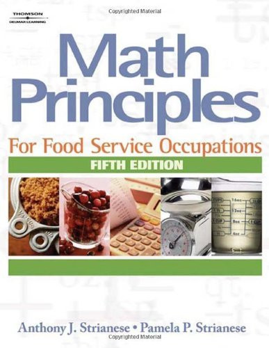 Math Principles For Food Service Occupations
