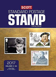 Scott 2017 Standard Postage Stamp Catalogue Volume 3
