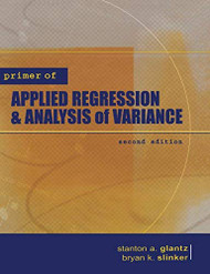 Primer Of Applied Regression And Analysis Of Variance