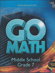 Go Math! Teacher Edition Grade 7 2014