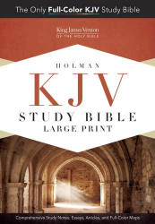 KJV Study Bible Large Print Edition