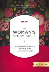 NKJV Woman's Study Bible Full-Color