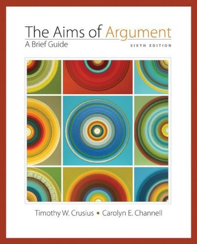 Aims Of Argument A Brief Guide