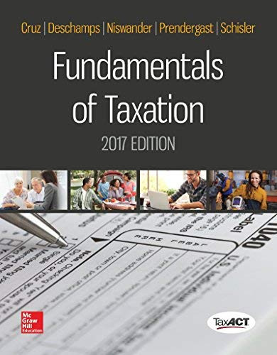 Fundamentals Of Taxation