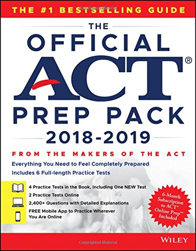 Official ACT Prep Pack with 6 Full Practice Tests