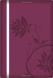 NKJV A Woman After God's Own Heart Devotional Bible SatinTone Berry