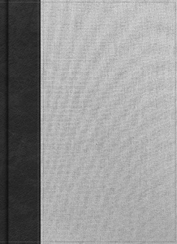 CSB Worldview Study Bible Gray/Black Cloth Over Board