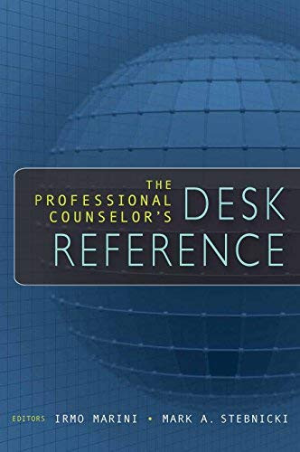 Professional Counselor's Desk Reference