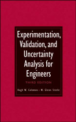 Experimentation Validation And Uncertainty Analysis For Engineers