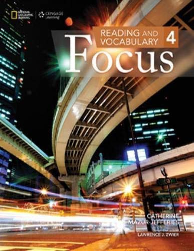 Reading And Vocabulary Focus 4