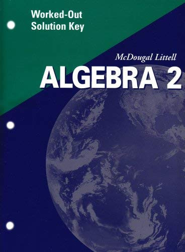 Algebra 2 Worked-Out Solution Key