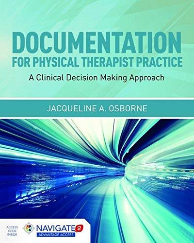 Documentation For Physical Therapist Practice