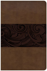 CSB Study Bible Personal Size Edition Mahogany LeatherTouch