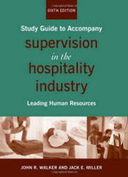 Supervision In The Hospitality Industry Study Guide