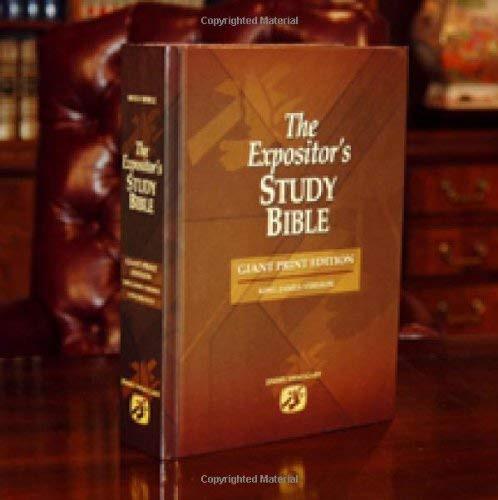 Expositor's Study Bible - Giant Print