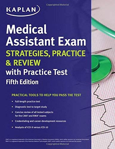 Medical Assistant Exam Strategies Practice and Review with Practice Test