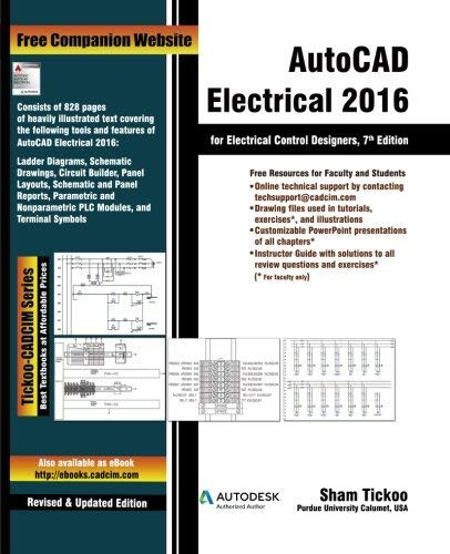 AutoCAD Electrical for Electrical Control Designers