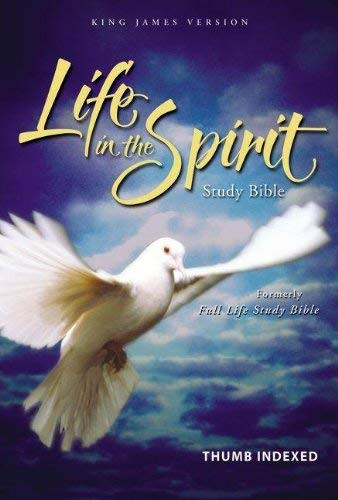 KJV Life in the Spirit Study Bible Indexed