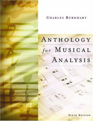 Anthology For Musical Analysis