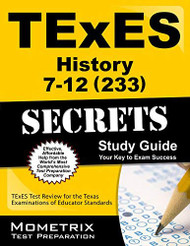 TExES History 7-12 Exam Secrets Study Guide