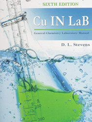 Cu IN LaB General Chemistry Laboratory Manual