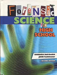 Forensic Science For High School Student Text