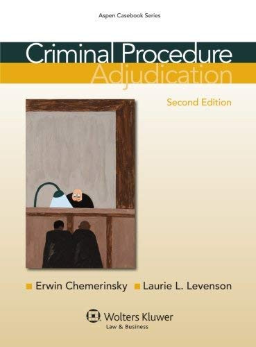 Criminal Procedure Adjudication