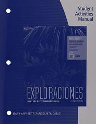 Exploraciones Student Activities Manual