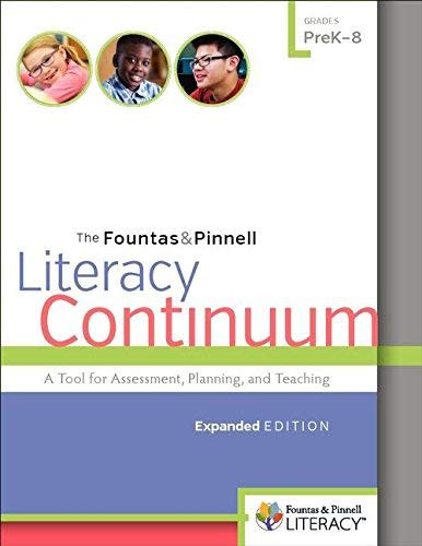 Fountas and Pinnell Literacy Continuum Expanded Edition