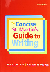 Concise St. Martin's Guide to Writing