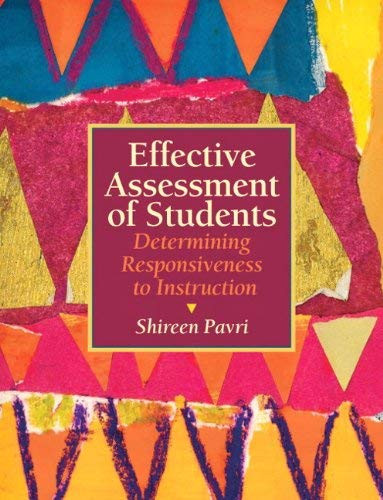Effective Assessment Of Students