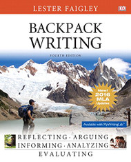 Backpack Writing MLA