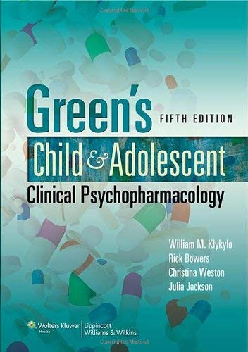Child and Adolescent Clinical Psychopharmacology