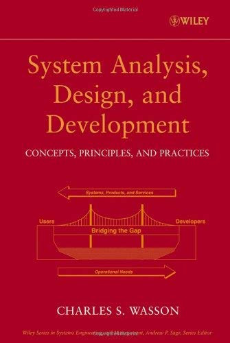 System Analysis Design And Development