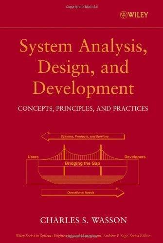 System Analysis Design And Development