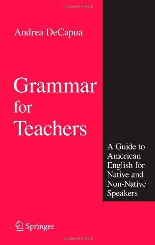 Grammar For Teachers