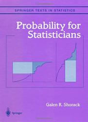 Probability For Statisticians