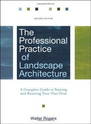 Professional Practice Of Landscape Architecture