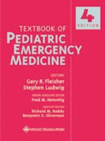 Textbook Of Pediatric Emergency Medicine