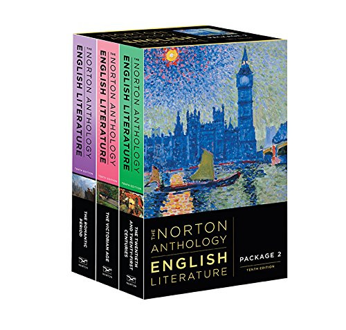 Norton Anthology Of English Literature Volumes D E F