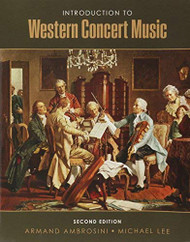 Introduction To Western Concert Music