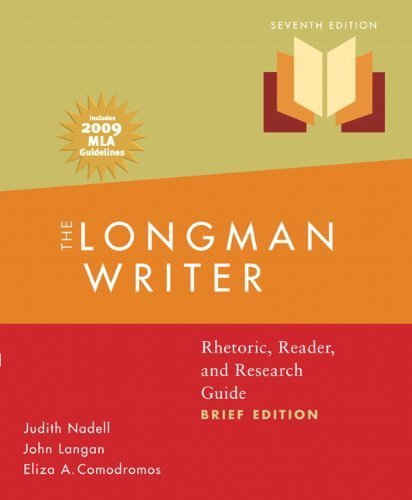 Longman Writer Brief Version