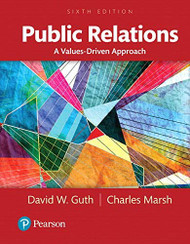 Public Relations A Values-Driven Approach