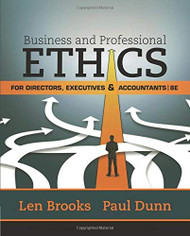 Business & Professional Ethics for Directors Executives & Accountants